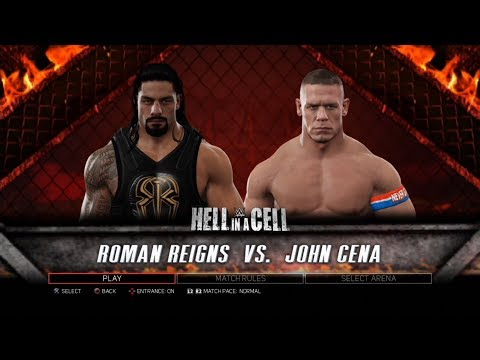Xxx Mp4 WWE 2K17 PS3 Gameplay Roman Reigns VS John Cena 60FPS FullHD 3gp Sex
