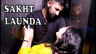 When Sakht Launda gets trapped in a lift with a hot girl | Idiotic Launda ft Rahul Sehrawat