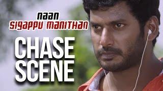 Naan Sigappu Manithan - Chase Scene | Vishal | Lakshmi Menon | Iniya