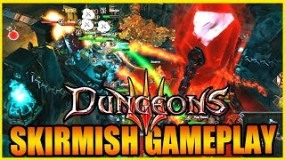 Skirmish Mode! Dungeons 3 - Gameplay Impressions Part 2