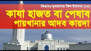Bangla Waz 2017~মুখতাসার ফিল ইবাদাহ {০৪} By Sheikh Motiur Rahman Madani
