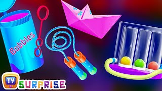 Surprise Eggs Nursery Rhymes Toys | Learn How To Swim for Kids With Cutians | ChuChu TV Egg Surprise