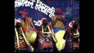 World famous Sambalpuri Dance (Odisha), on the stage of BPMV