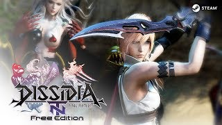 Dissidia Final Fantasy NT Free Edition - Tutorial & Sparring - Download & Play - PC - F2P/B2P - EN