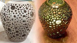 Creating a Pierced Wheel Thrown Vase