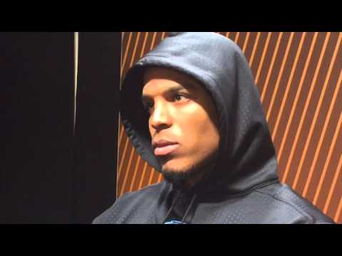Cam Newton Goes Quiet Storms Out Of Press Conference After Super Bowl Loss
