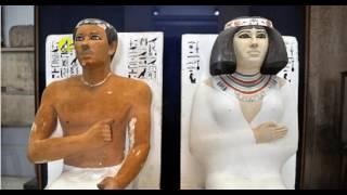 تمثال رع حتب ونفرت بالمتحف المصرى