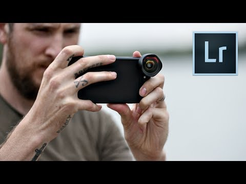 Mobile Photography New LIGHTROOM app & lens overview
