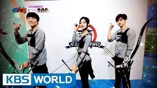 Cool Kiz on the Block | 우리동네 예체능 – 2016 Archery Festival [ENG/2016.10.11]