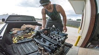We put eggs in his Engine, then Surprised him with a NEW ONE!!