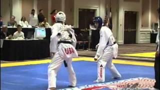 Tim Thackrey vs Peter Lopez (Match 1) (2003 Pan Am Games Trials)