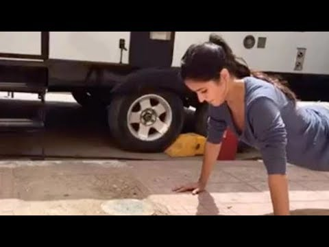 SHOCKING! Katrina Kaif does push-ups without using her hands