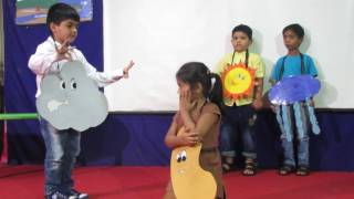 A Story of a Seedling Skit by a kids of sr.kg