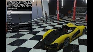 GTA 5 DLC Vehicle Customization (Grotti Visione)