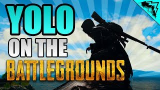 "AWM COMMANDER ""YOLO on the Battlegrounds"" (Player Unknown"