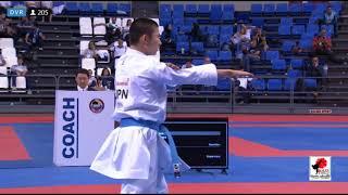 X WKF Junior, Cadet &U21 World Championships, 2.017, Tenerife (Spain). Final Kata Cadet Male