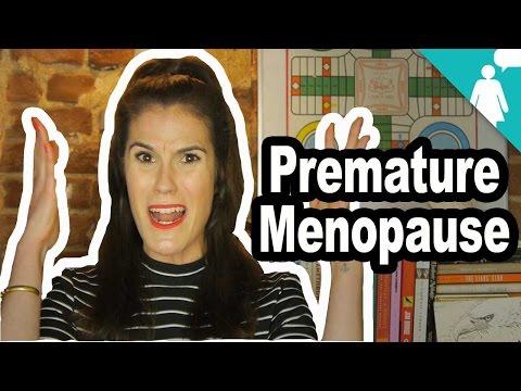 MENOPAUSE AT 30?!