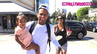 Kid Ink & Asiah Azante Speak On New Projects At Tocaya With Their Daughter Aislin Collins 10.2.17