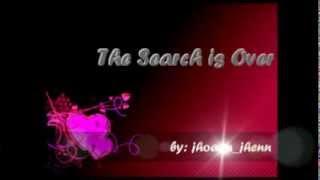 The Search is Over by rachelle ann go lyrics