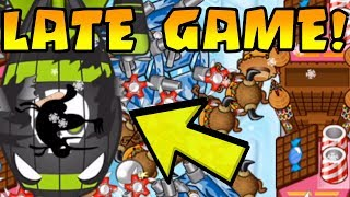 INSANE EPIC LATE GAME W/ Boat + Boomer + Farm | Bloons TD Battles