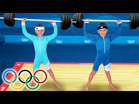 KID SIZE OLYMPICS