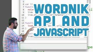 10.8: Wordnik API and JavaScript - p5.js Tutorial
