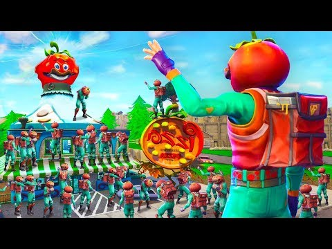 100 Player s Say Goodbye To Tomato Town In Fortnite Battle Royale Emotional