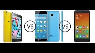 Xiaomi redmi note 2, vs Meizu M 2 note, vs Lenovo K3 note teljes teszt. (1.resz)