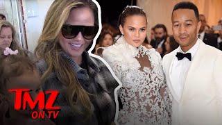 Chrissy Teigen Shuts Down Break Up Rumors | TMZ TV
