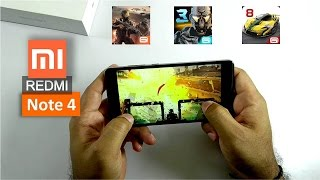 Xiaomi Redmi Note 4 Gaming Review with Asphalt 8, Modern Combat 5 and Nova 3