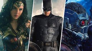 SUPERHERO MOVIES 2017 - All Trailers