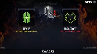 Nexus vs. Fragsport [EN] @GOCL S5