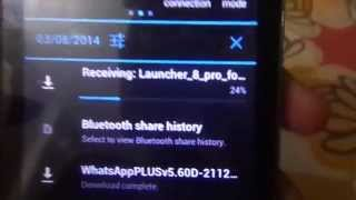 HOW TO SEND APPS USING BLUETOOTH