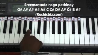 Raavoyi Chandamaama - Piano Tutorials