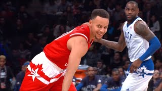 Warriors 2016 All-Star Game Highlights ( Stephen Curry, Klay Thompson & Draymond Green )