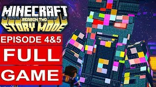 MINECRAFT STORY MODE SEASON 2 EPISODE 5 & 4 Gameplay Walkthrough Part 1 FULL GAME - No Commentary