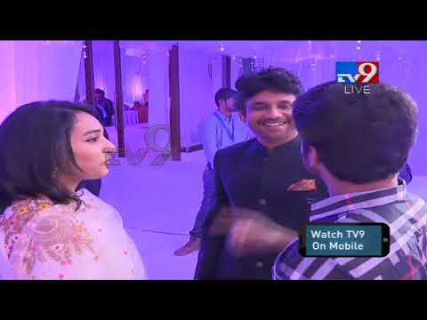 Xxx Mp4 Nani With Wife Anjana At ChaySam Wedding Reception TV9 3gp Sex