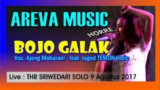 BOJO GALAK Pendhoza AREVA Music TEMON HOLIC live THR Sriwedari