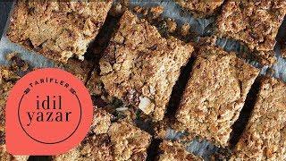 Süper Besleyici Granola Bar Tarifi (Tahılsız) - İdil Tatari - Yemek Tarifleri