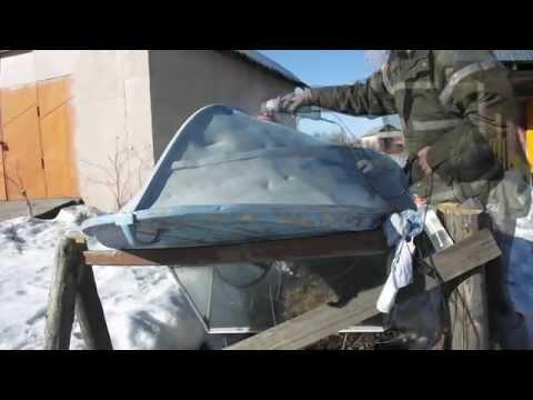 как красить дюралевую лодку в домашних условиях