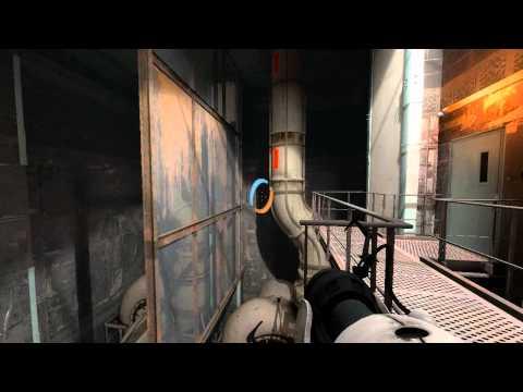 Let's Play Portal 2 Blind [Part 15] - Propulsion Gel Get