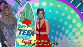 [LEGENDADO] Lucy Hale - Teen Choice Award 2014