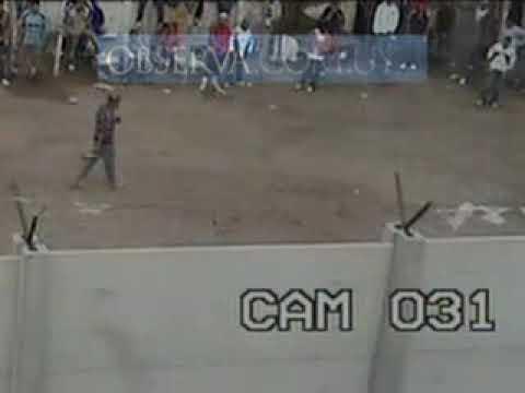 HOMICIDIO FILMADO EN CARCEL DE MONTEVIDEO URUGUAY
