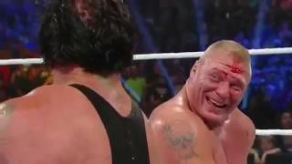Brock Lesnar vs The Undertaker Highlights 1 2 SummerSlam 2015
