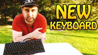 MY NEW KEYBOARD - CORSAIR K65 REVIEW - MX CHERRY O RINGS - NICK REVIEWS