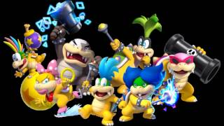 Super Mario Megamix - Koopalings And Reznors Battle Extended