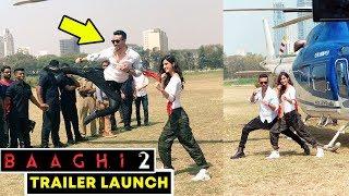 Baaghi 2 Action Stunt LIVE | Tiger Shroff, Disha Patani | Baaghi 2 Trailer Launch