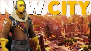 NEW CITY UPDATE COMING | Fortnite Battle Royale