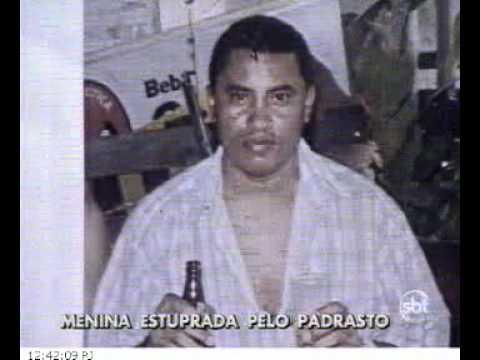 SBT RIO menina estuprada pelo padrasto