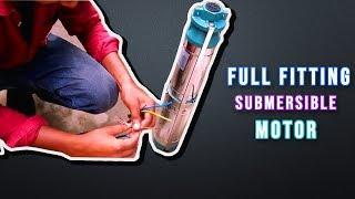 submersible water pump fitting home || submersible motor||water pumping pump ||sub pump